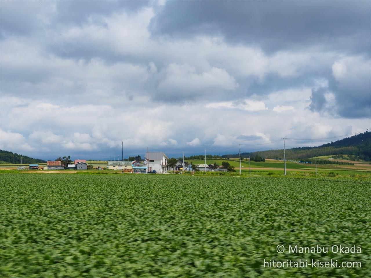 牧歌的な北海道の風景2