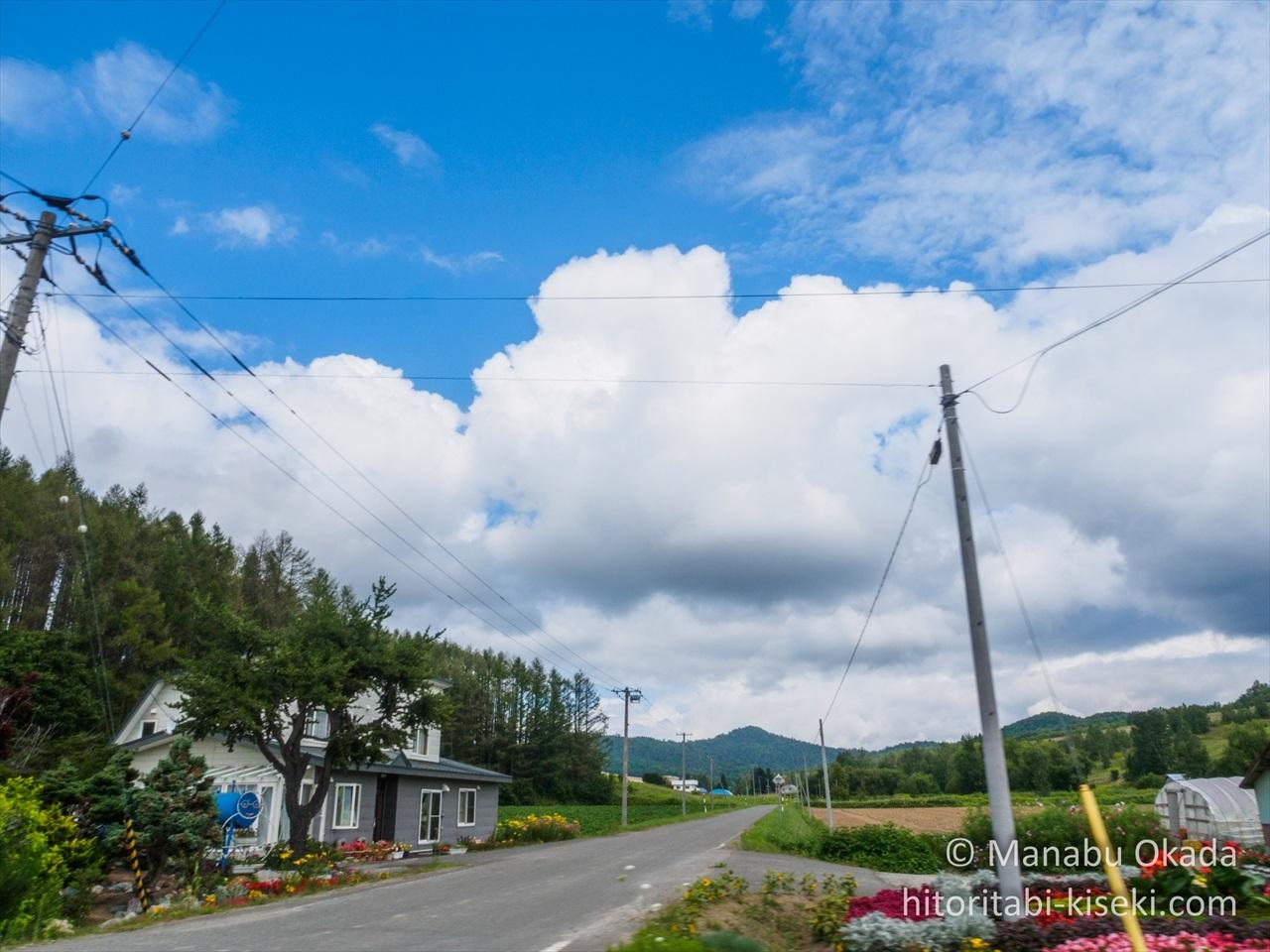 狩勝峠までの道中3