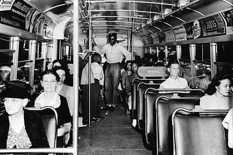 黒人用バス