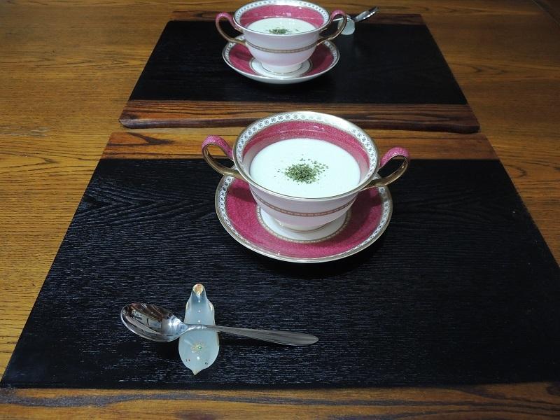 ホウレン草の冷製スープ