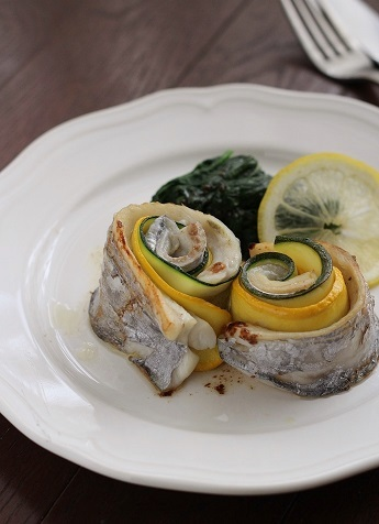 太刀魚とズッキーニのソテー