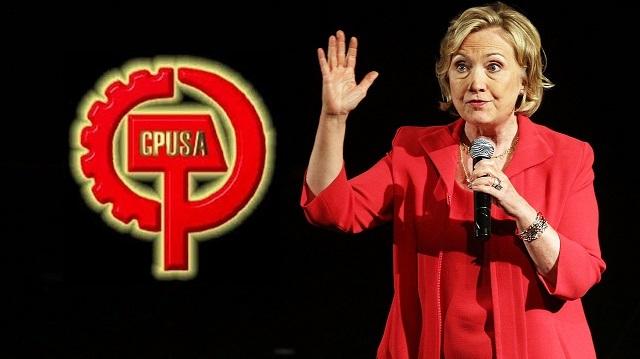 ヒラリー アメリカ共産党