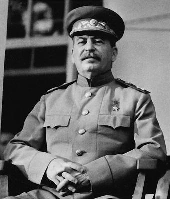 1943年・テヘラン会談におけるスターリン