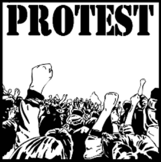 プロテスト 抗議