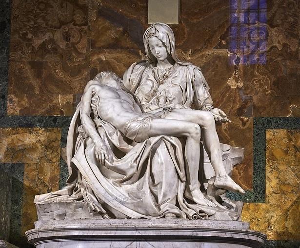 『サン・ピエトロのピエタ』ミケランジェロ (1498–99)