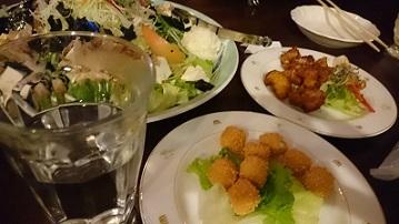 ねこばす氏のお誕生後夜祭ディナー