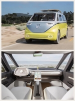 VWの電動バス「I.D. Buzz」トランスポルター