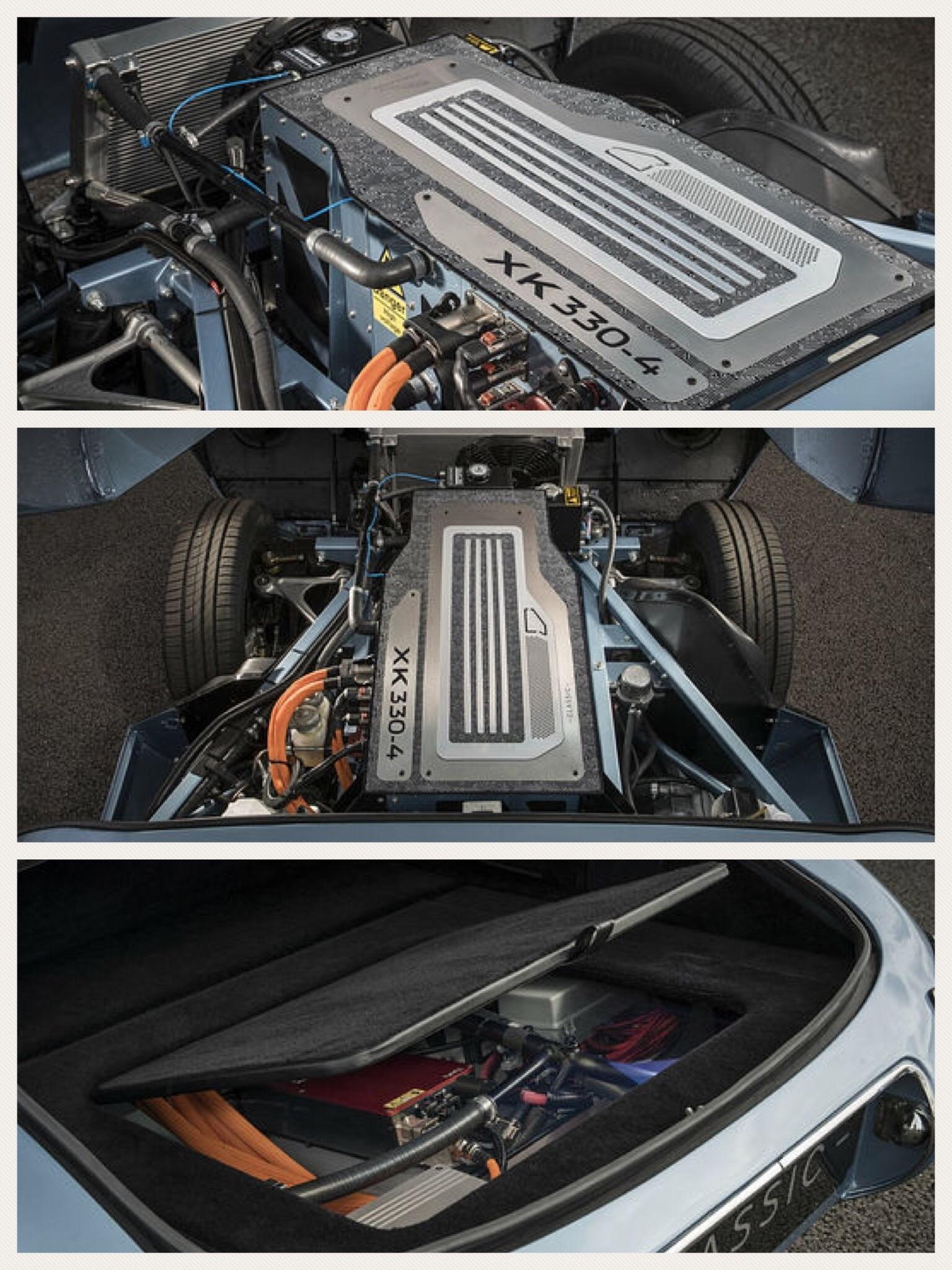 ジャガー ランドローバー E-TYPE ZERO EV レトロ 電気自動車