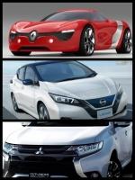 ルノー日産三菱アライアンス EV プラットフォーム 共通化