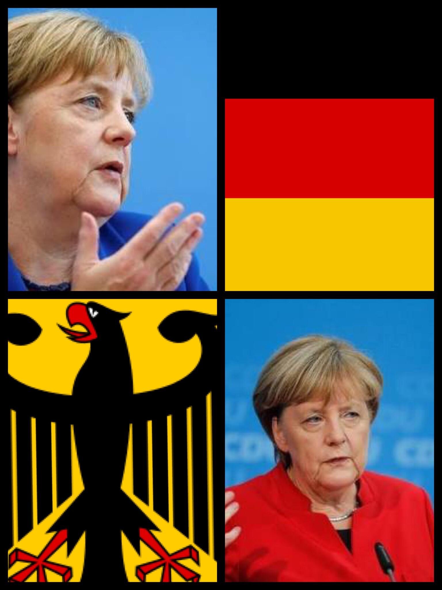 ドイツ 独 メルケル