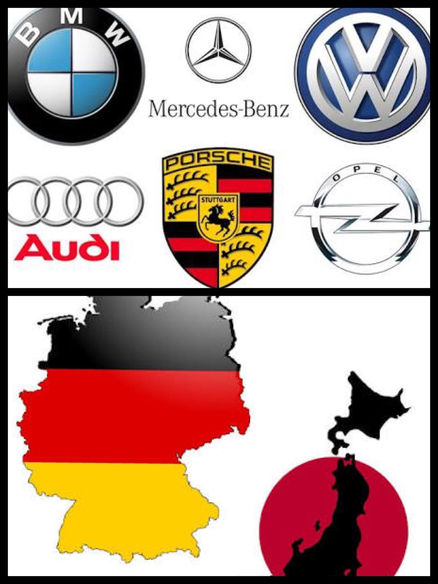 ドイツ自動車メーカー 独 日