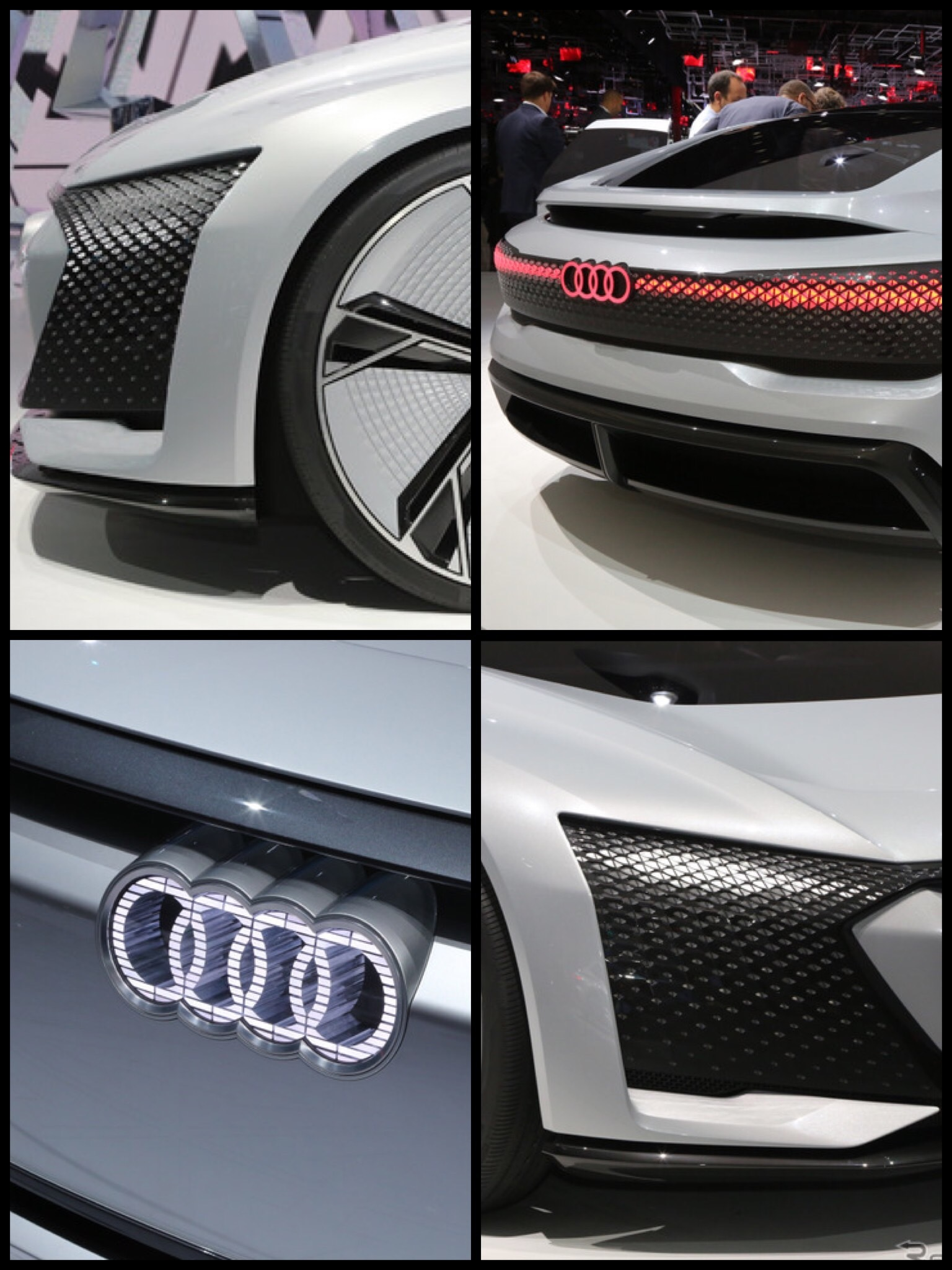 アウディ アイコン Audi aicon revel5 自動運転 EV ハンドルが無い