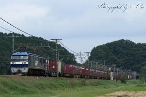 5071レ(=EF210-901牽引)
