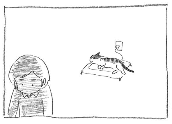 1-李子寝てる
