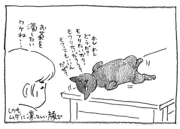 6-お茶濁す