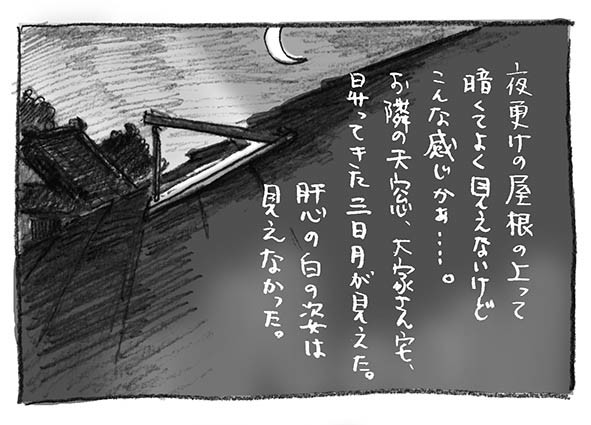 5-夜更け屋根上