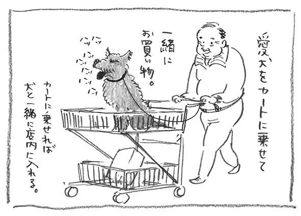 3-カート犬