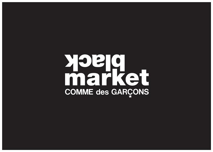 「ブラックマーケット コム デ ギャルソン」のロゴ