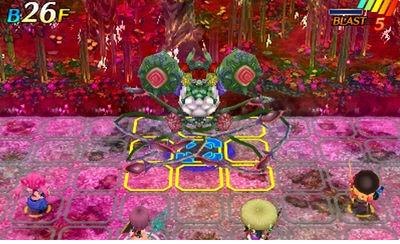 【世界樹と不思議のダンジョン2 攻略】 第6迷宮 幻想白森 D.O.E ボス「幻影樹ヤテベオ」の情報 【セカダン2】