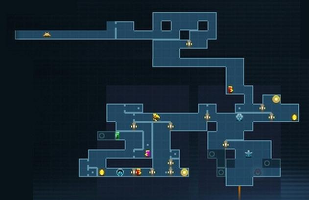 【メトロイド サムスリターンズ】 最初のエリア SURFACE(サーフェス) マップと攻略 【Metroid Samus Returns】