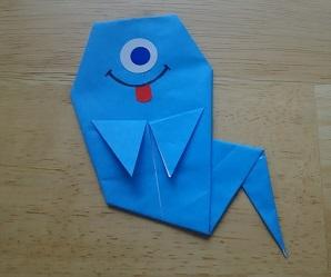 お化け折り紙
