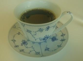 六花亭のコーヒー