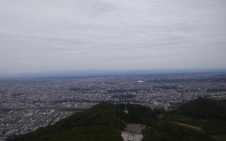 藻岩山ロープウェイ頂上から20170830_134502