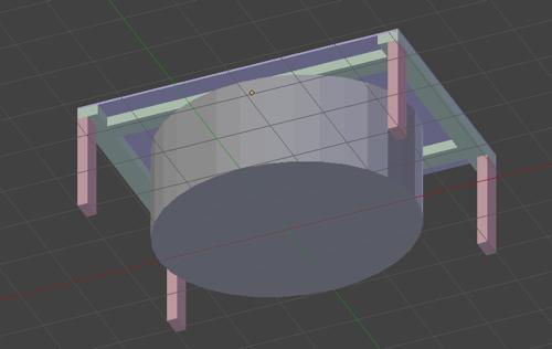 Blenderで設計