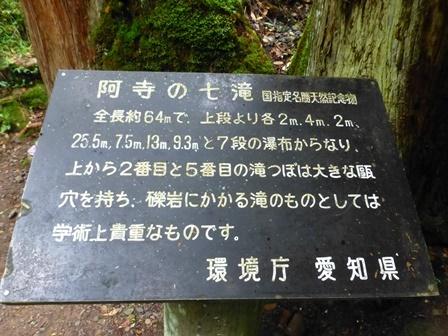 阿寺の七滝21