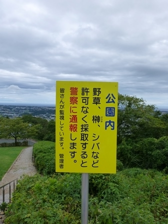 蔵王山展望台7