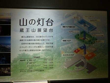 蔵王山展望台30