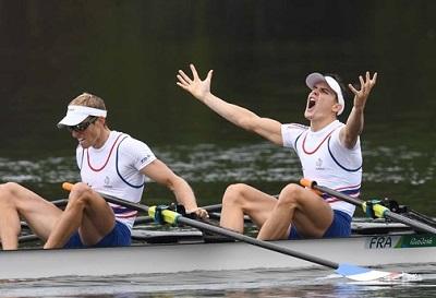 2016 rio フランスLM2X World Rowingより