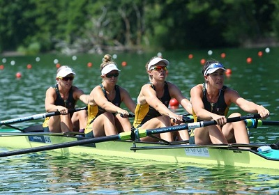 オーストラリアW4- World Rowingより