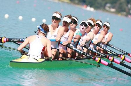 アメリカW8+2017世界選手権へ World Rowingより