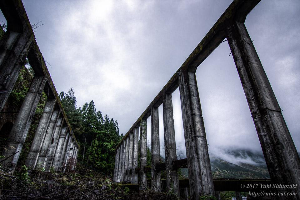 紀州鉱山(紀和鉱山)_コンクリートの神殿