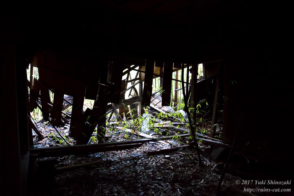 【廃墟写真】K医院_北側の住居内部
