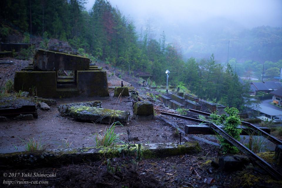 紀州鉱山(紀和鉱山)_インクライン分岐先