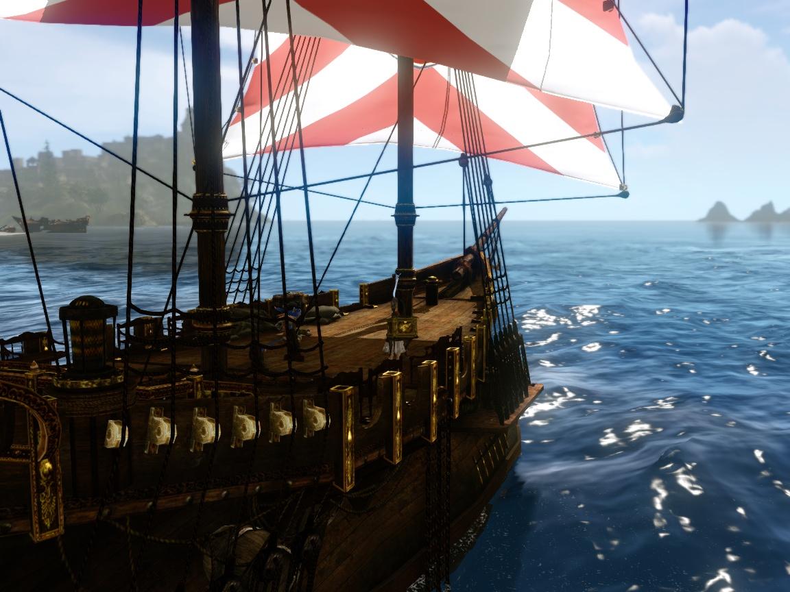 貿易船にのってみた