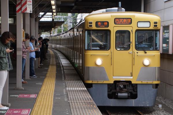 2017-09-23 西武2001F 各停西武新宿行き 5332レ