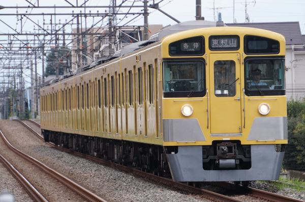 2017-09-23 西武2045F 各停東村山行き 6665レ
