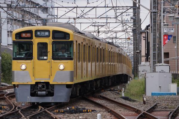 2017-09-23 西武2061F 急行本川越行き 2647レ