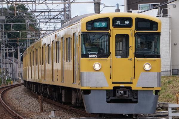 2017-09-23 西武9105F 準急池袋行き 4126レ