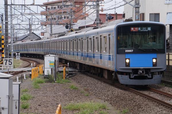 2017-09-23 西武20107F 急行本川越行き 2643レ