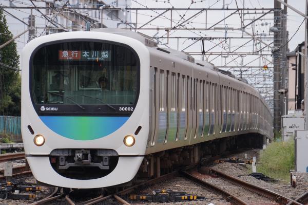 2017-09-23 西武30102F 急行本川越行き 2645レ