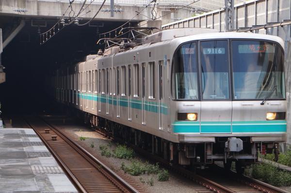 2017-09-26 メトロ9116F 各停鳩ヶ谷行き