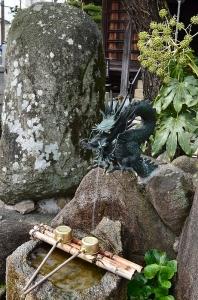 湘江庵の井戸の水(?)