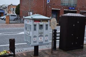 麗都路通りの郵便ポスト
