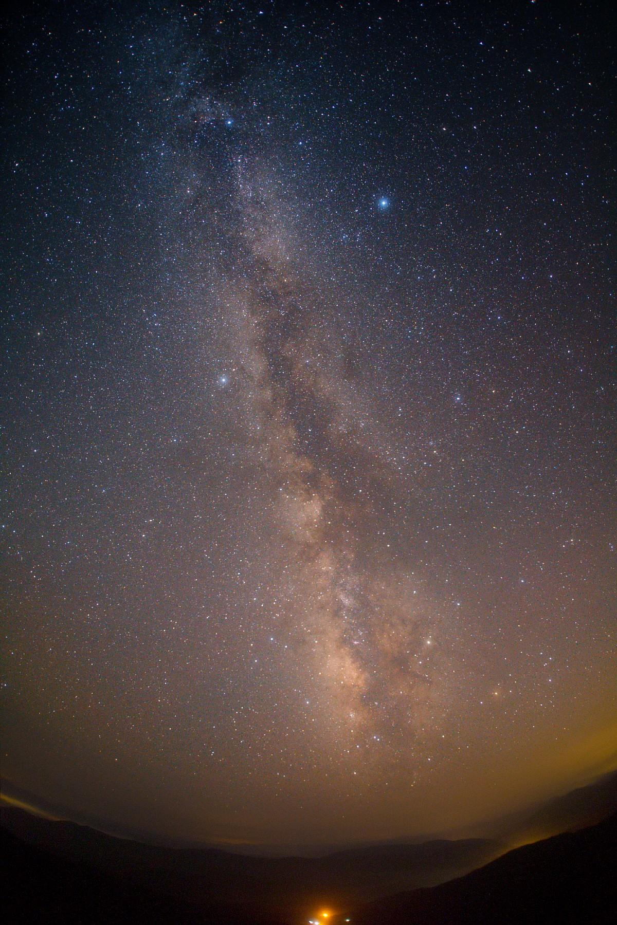 【星景】夏の天の川@四国カルスト