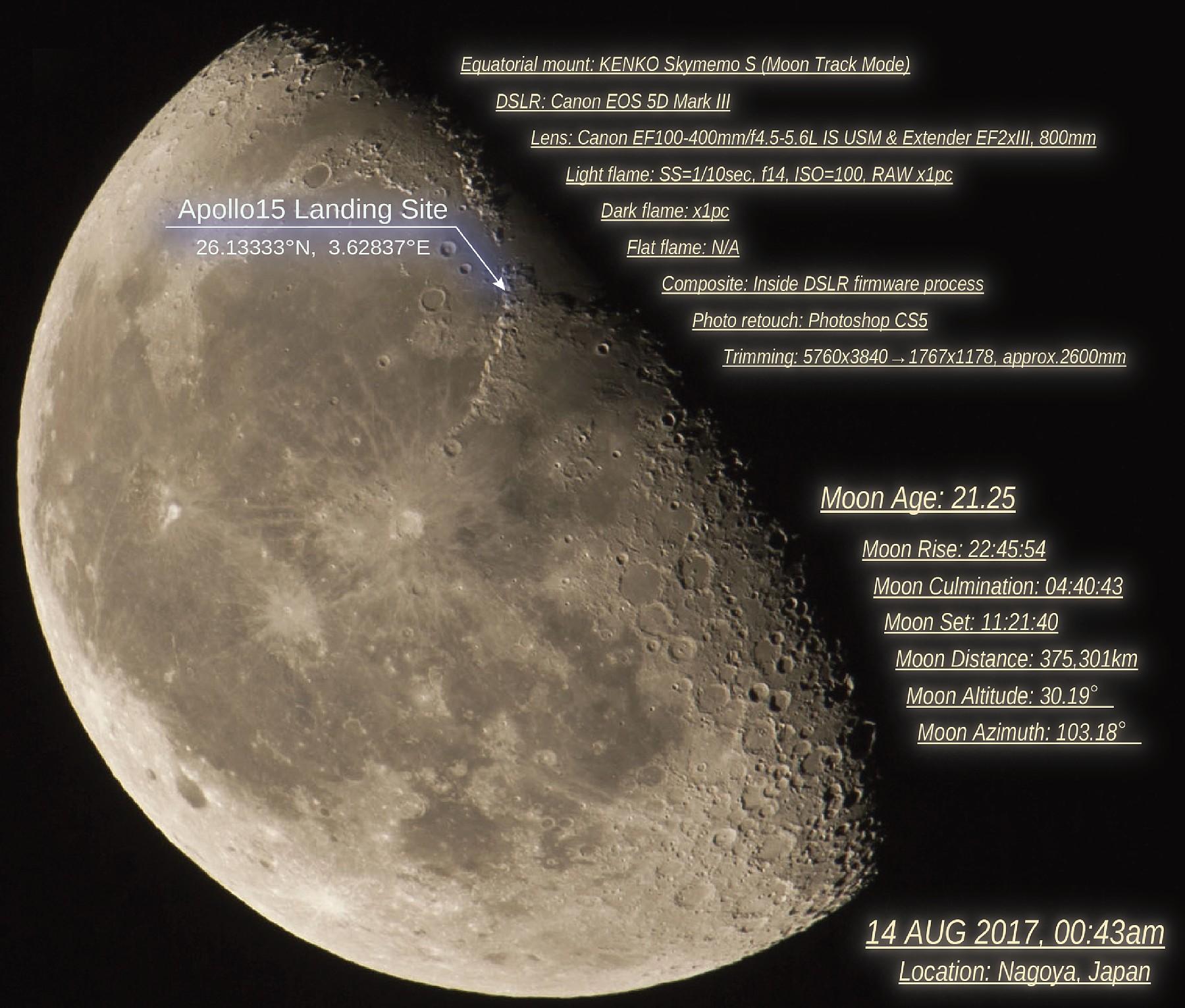 【月】下弦の月