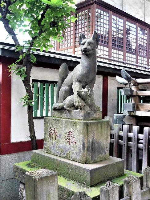 柳森神社-おいなりさんーその1